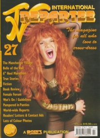 Front cover of International TV Repartee 27 magazine