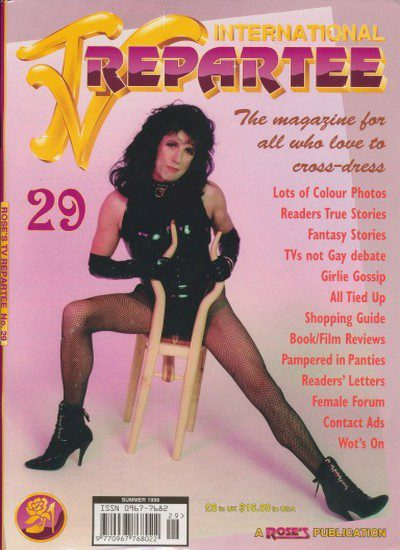 Front cover of International TV Repartee 29 magazine