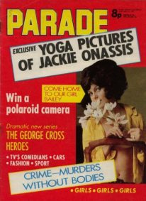 Front cover of Parade January 13th 1973 magazine