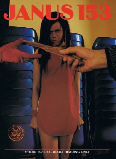 Front cover of Janus 153 magazine