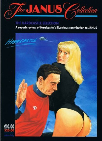 Front cover of Janus Hardcastle Collection magazine