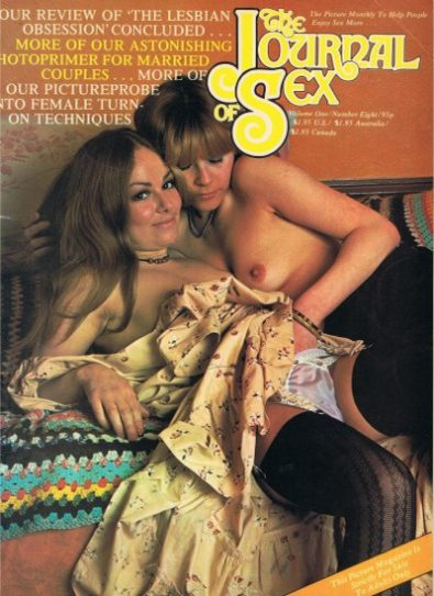Front cover of Journal of Sex Volume 1 No 8 magazine