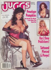 Front cover of Juggs April 1997 magazine