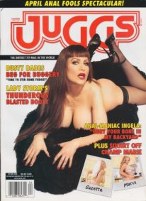 Front cover of Juggs April 2004 magazine