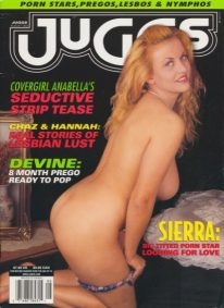 Front cover of Juggs August 2002 magazine