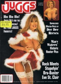 Front cover of Juggs December 1996 magazine