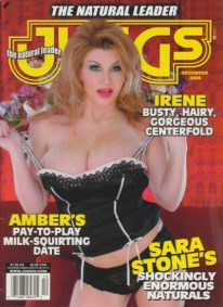 Front cover of Juggs December 2006 magazine