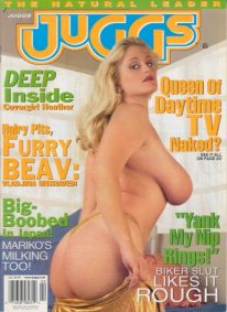 Front cover of Juggs February 2001 magazine