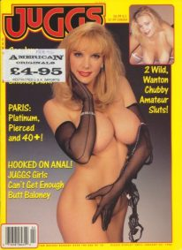 Front cover of Juggs February 1996 magazine