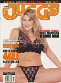 Front cover of Juggs June 2002 magazine