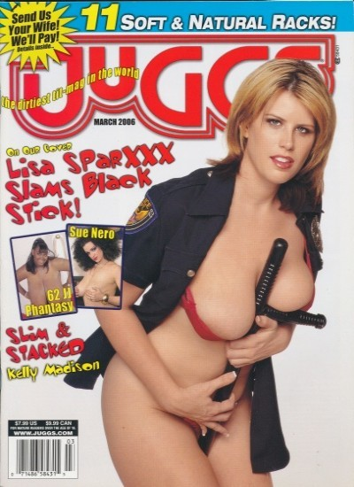 Front cover of Juggs March 2006 magazine