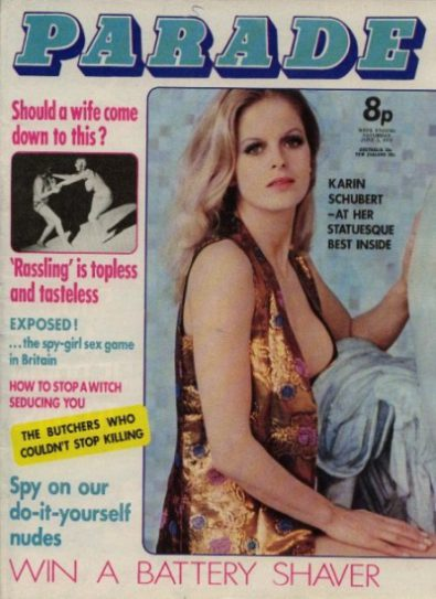 Front cover of Parade June 3rd 1972 magazine
