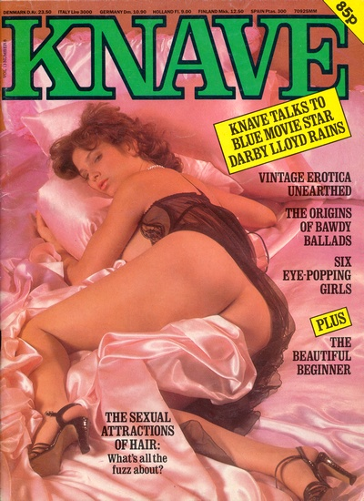 Front cover of Knave Volume 13 Number 8 magazine