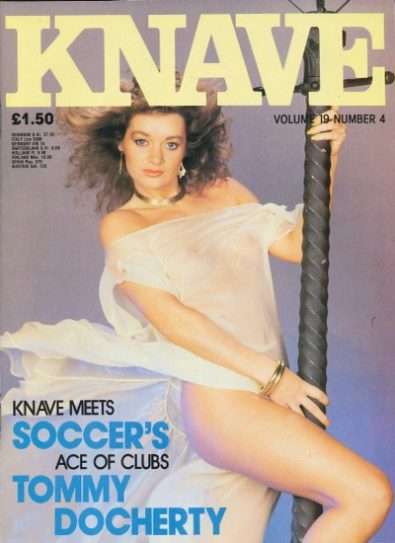 Front cover of Knave Volume 19 N0 4 magazine