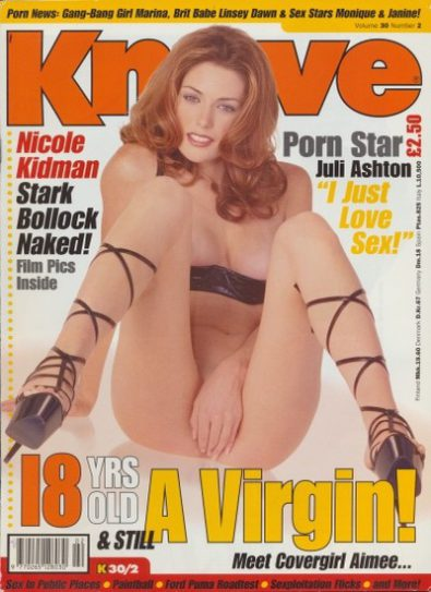 Front cover of Knave Volume 30 No 2 magazine