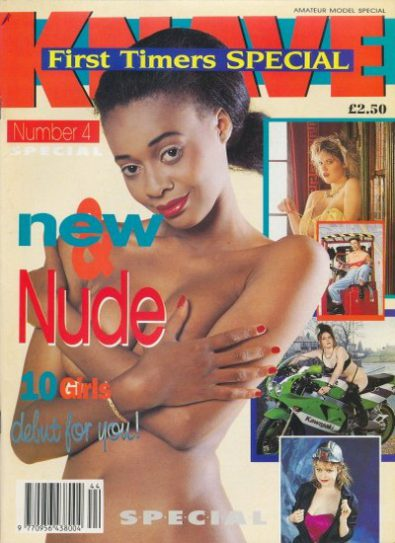 Front cover of Knave First Timer Special Number 4 magazine