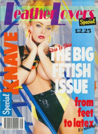 Front cover of Knave Leather Lovers Special Number 4 magazine
