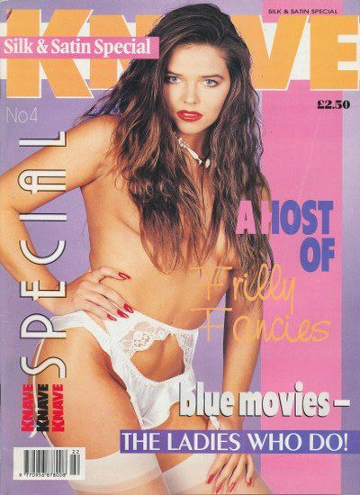 Front cover of Knave Silk & Satin Special 4 magazine