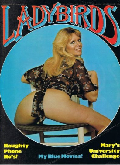Front cover of Ladybirds No 1 magazine