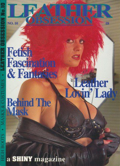 Front cover of Leather Obsession Issue 10 magazine
