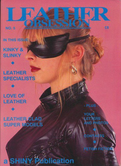 Front cover of Leather Obsession Issue 5 magazine