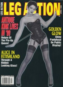 Front cover of Leg Action April 1999 magazine
