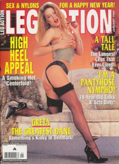 Front cover of Leg Action January 1999 magazine