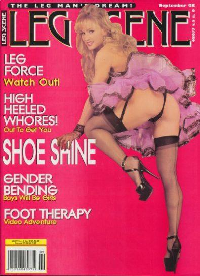 Front cover of Leg Scene September 1998 magazine