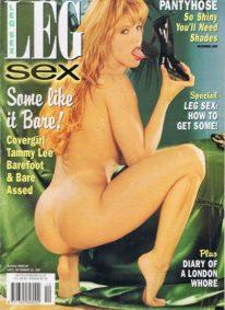 Front cover of Leg Sex December 1997 magazine