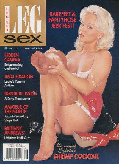 Front cover of Leg Sex June 1999 magazine