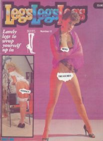 Front cover of Legs Legs Legs Number 11 magazine