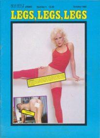 Front cover of Legs Legs Legs 4 magazine