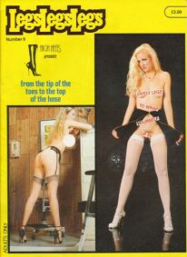 Front cover of Legs Legs Legs Number 9 magazine