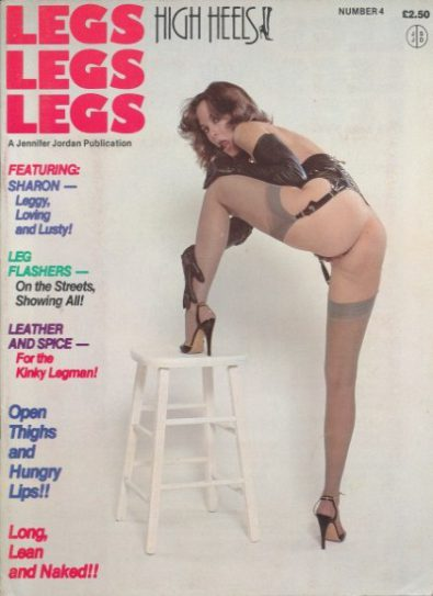 Front cover of Legs Legs Legs Number 4 magazine