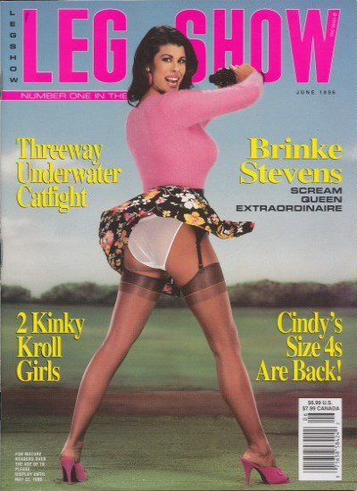 Front cover of Leg Show June 1996 magazine