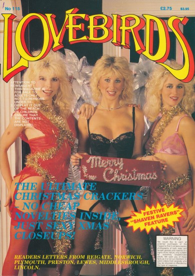 Front cover of Lovebirds No 115 magazine