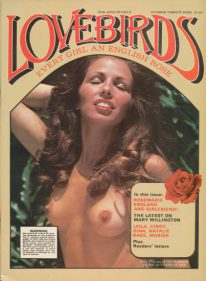 Front cover of Lovebirds No 29 magazine