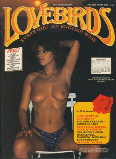 Front cover of Lovebirds Number 41 magazine