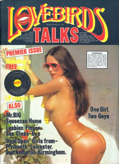 Front cover of Lovebirds Talks No 1 magazine