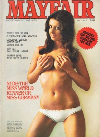 Front cover of Mayfair Volume 11 No 2 magazine