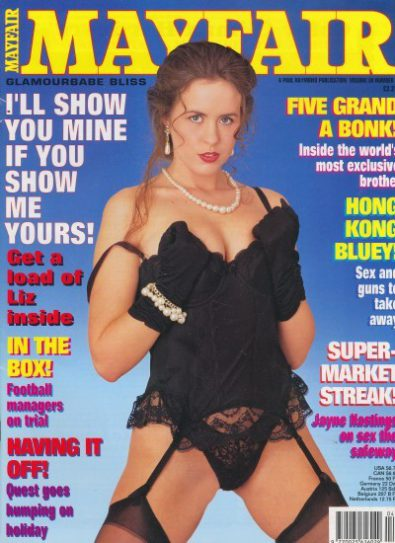 Front cover of Mayfair Volume 30 No 4 magazine