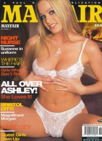 Front cover of Mayfair Volume 40 No 11 magazine