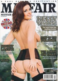 Front cover of Mayfair Volume 48 No 4 magazine