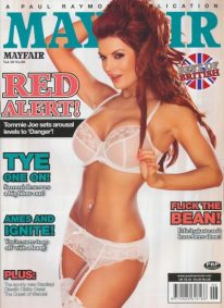 Front cover of Mayfair Volume 50 No 6 magazine