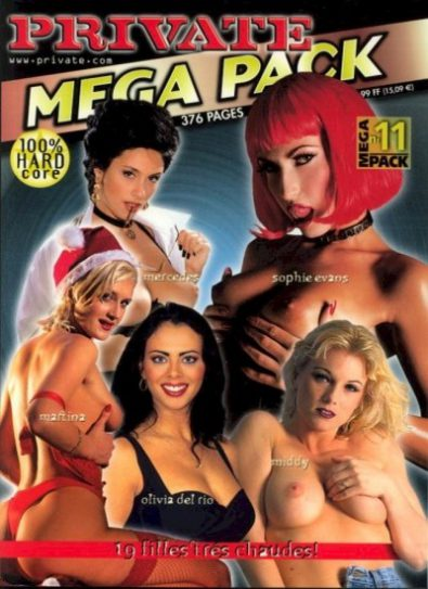 Front cover of Private Mega Pack 11 magazine