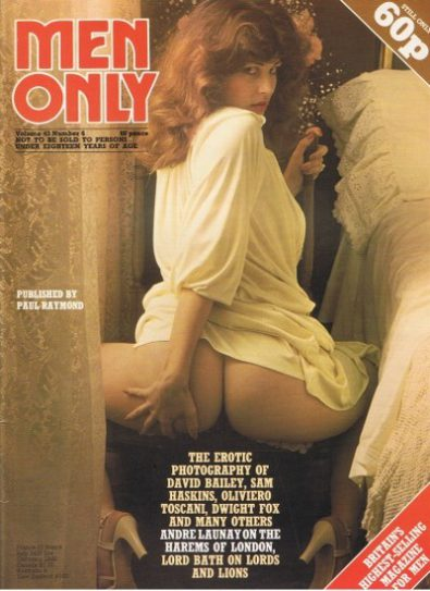 Front cover of Men Only Volume 43 No 6 magazine