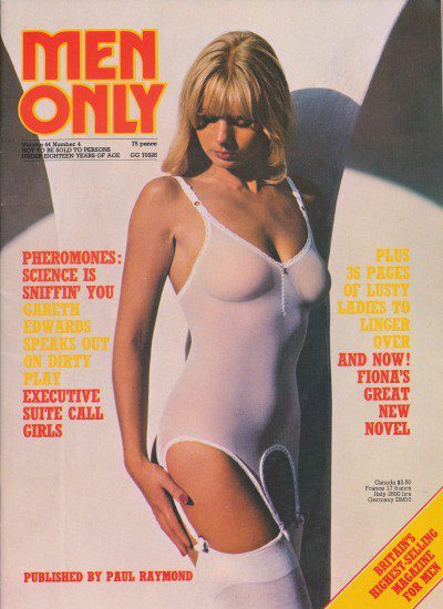 Front cover of Men Only Volume 44 No 4 magazine