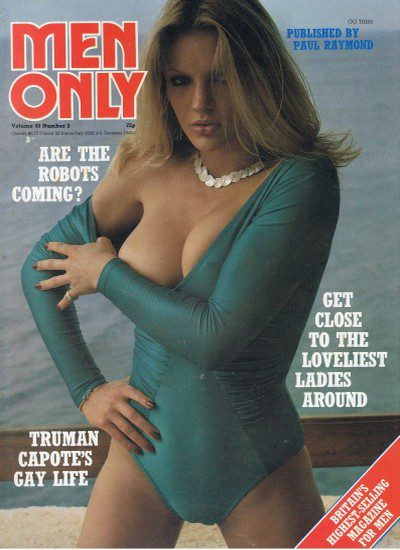 Front cover of Men Only Volume 45 No 3 magazine