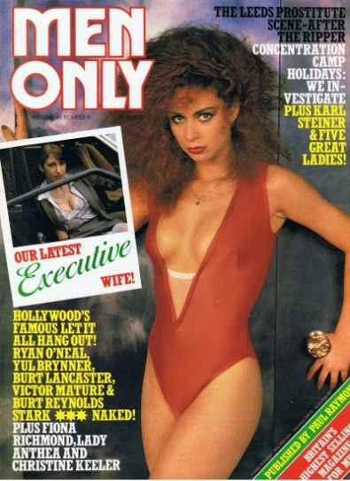 Front cover of Men Only Volume 46 No 6 magazine