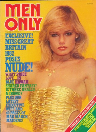 Front cover of Men Only Volume 47 No 3 magazine